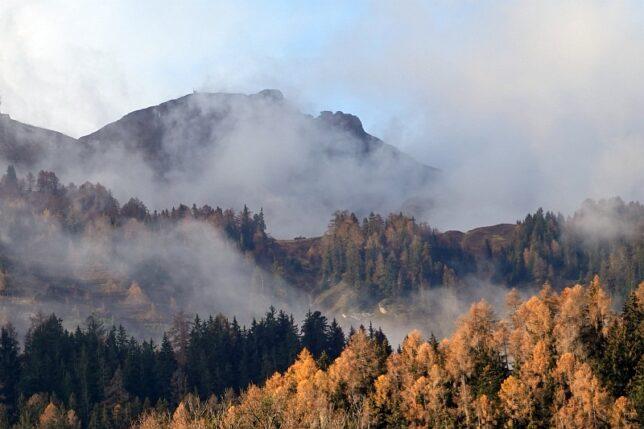 Nebel weicht
